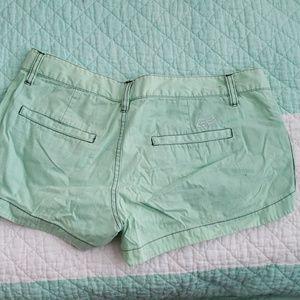 Fox Shorts - Cute fox real green short